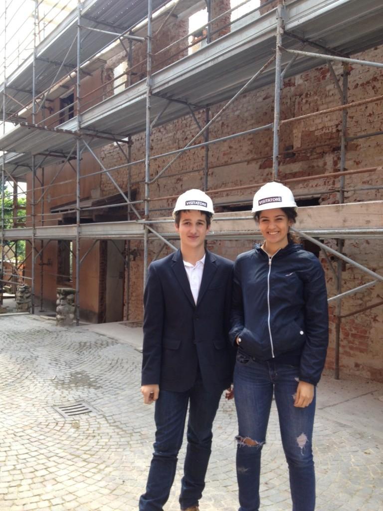 Work Experience at 'one brick forward'