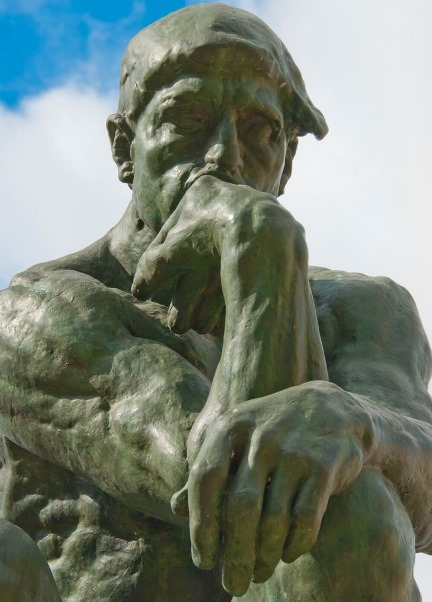 'The Thinker' by August Rodin