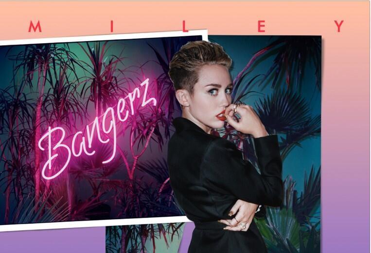 Miley Cyrus's new album cover
