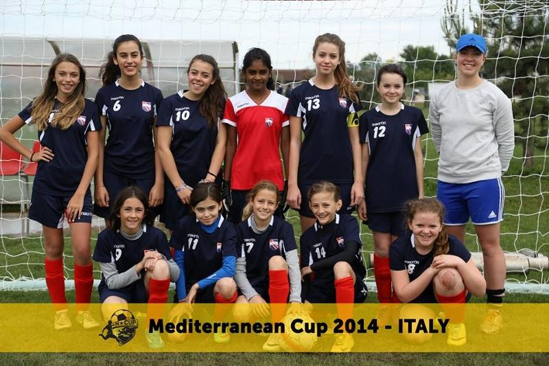 Mediterranean Cup 2014 (Girls Football)