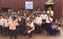 St. Louis School abroad: helping people smile