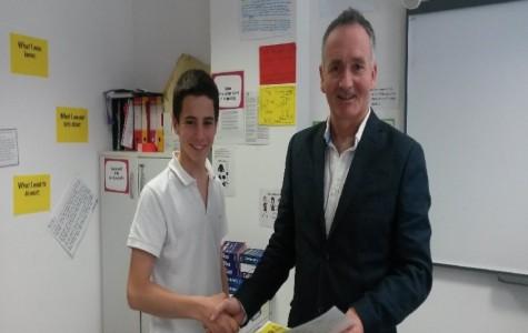 Ruggero wins Year 10 Spelling Bee
