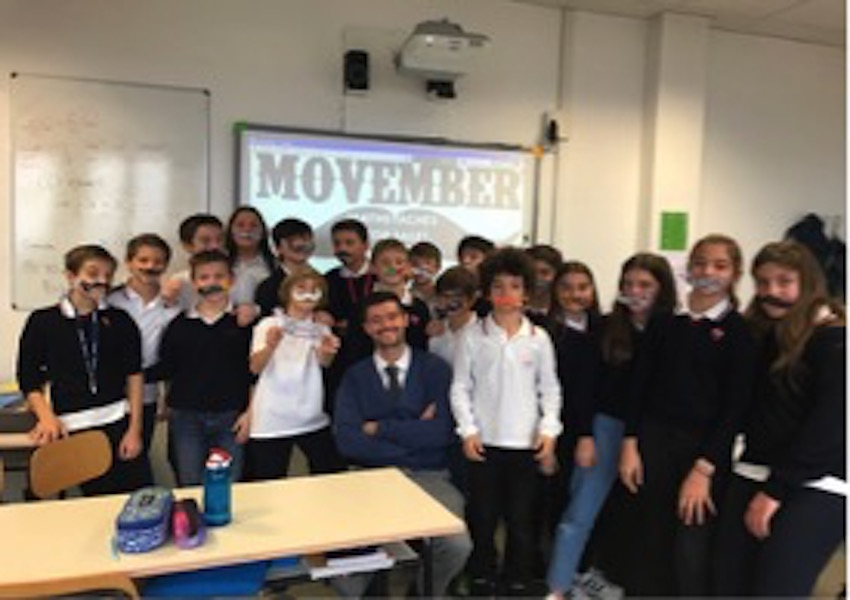 Members+of+7B+show-off+their+%E2%80%98mathstaches%E2%80%99+with+Head+of+Zeus%2C+Mr.+Curran.