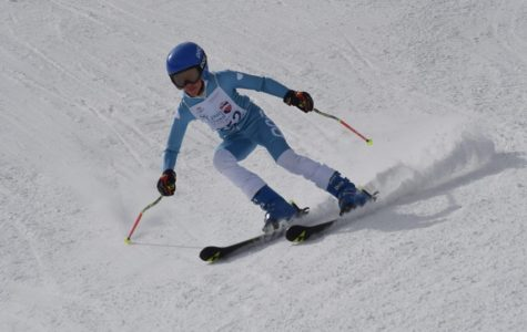 Jacopo B, Year 7 category 1st Place, in action at St. Louis on the Slopes