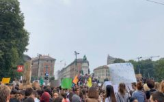 Students in Milan March To Keep The World Alive