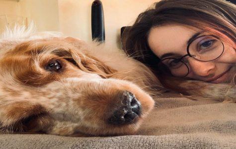 Giorgia and her dog